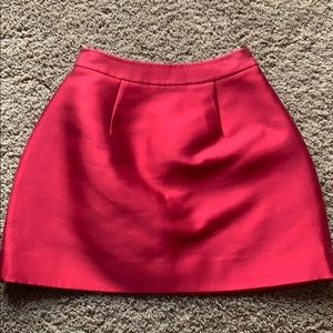 Kate spade satin skirt